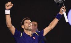 Džokovičs sesto reizi triumfē 'Australian Open'