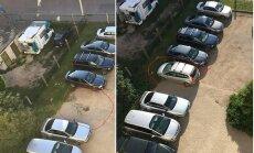 ФОТО ОЧЕВИДЦА: Не можете припарковаться у работы? Есть решение!