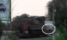 Noskaidrots, kā pirms MH17 katastrofas transportēta 'Buk' sistēma