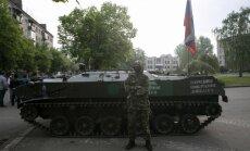 Slovjanskā gājuši bojā četri Ukrainas armijas karavīri; 30 ievainoti