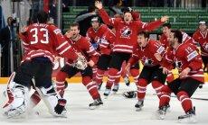 Kanādas hokejisti klusā finālā atkārtoti kļūst par pasaules čempioniem