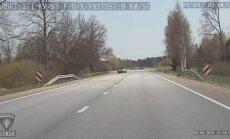 Autovadītājs Rīgā uz lidostu steidzies ar 170 km/h