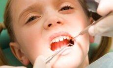 Bērniem līdz 15 gadiem zobus labos tikai ar baltajām plombēm; valsts apmaksās poligrāfijas un polisomnogrāfijas izmeklējumu