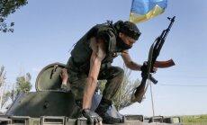 Kauja uz Krievijas - Ukrainas robežas; uzbrukums atsists (22:59)