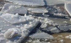 No jauna kāpj ūdens līmenis Daugavā pie Jēkabpils