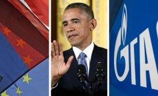 """22 апреля. Латвия разочаровалась в Брюсселе, а Москва — в Обаме, ЕК объявила войну """"Газпрому"""""""