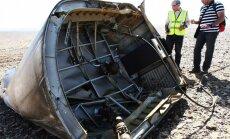'Airbus' katastrofa Ēģiptē: Krievijas aviācijā domstarpības par lidmašīnas sadalīšanās iemesliem
