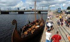 Rīgā plāno veidot seno ostu un rekonstruē vēsturisku kuģi