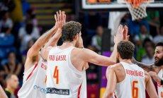 Spānijas basketbolisti Eiropas čempionu titulu nomaina ar bronzas medaļām