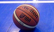 Latvijas U-16 basketbolisti zaudē arī piektajā EČ mačā un paliek pēdējie atpalicēju turnīrā
