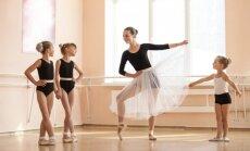 Vai piecu gadu vecumā var saskatīt dotības baletā