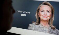 Neērti jautājumi un atbildes par ASV prezidenta amata kandidāti Hilariju Klintoni