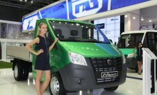 Krievu komercauto 'GAZelj' tirgos arī Eiropā