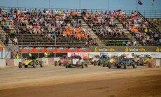 FIA Eiropas autokrosa čempionāta posma 'SuperBuggy' klasē otro vietu izcīna Ervins Grencis