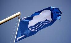 В этом году Синие флаги будут подняты на 21 латвийском пляже