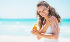 Daži saules aizsargkrēmi nenodrošina nepieciešamo aizsardzību ādai