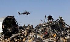 Ēģiptes lidmašīna uzspridzināta; Putins sola atrast un sodīt teroristus
