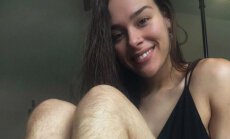 Spalvas pa gaisu: lepna blogere, kura jau gadu nelieto skuvekli