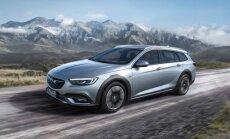 Jaunā 'Opel Insignia' paaugstinātās pārgājības versijā 'Country Tourer'