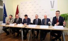 """""""Единство"""" намерено добиться стабилизации численности населения в Цесисе, Талси, Лиепае и Риге"""