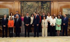 Zvērestu nodevusi Spānijas jaunā valdība