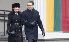Aprīļa beigās Latviju apmeklēs Zviedrijas kroņprincese un princis