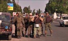Video: Krievijas spēku uzbrukums Mariupolei atvairīts (plkst.00:30)