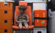 Кадры с окровавленным мальчиком из Алеппо потрясли мир