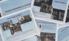 ASV publisko fotogrāfijas, kas norāda uz Krievijas karavīru klātbūtni Ukrainā