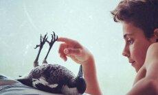 Ļoti neparasti draugi - bērni un žagata vārdā Pingvīns