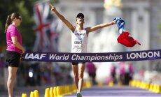 Franču soļotājs Diniss 39 gadu vecumā beidzot kļūst par pasaules čempionu