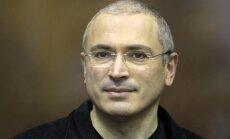 Hodorkovskis: Krievijas režīmā izmaiņas gaidīt ir nereāli