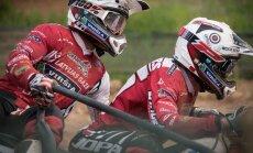 Stupeļa un Daidera ekipāžas PČ posmā Čehijā uz goda pjedestāla