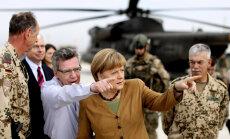 Vācijas izlūkdienestu vadītāji dosies uz ASV prasīt paskaidrojumus par Merkeles izspiegošanu