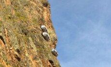 Atklāta, iespējams, pasaulē bīstamākā viesnīca, kas iekārta klintī