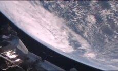 Video: Vētra Debija uzfilmēta no kosmosa