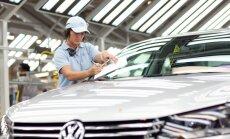 'Volkswagen' kļuvis par pasaulē lielāko autoražotāju