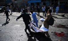 В Кабуле взорвали демонстрацию нацменьшинств: десятки убитых и раненых