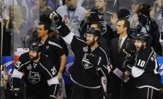 'Kings' izcīna pirmo uzvaru NHL pusfināla sērijā pret 'Blackhawks'