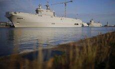 Ēģipte pirks no Francijas 'Mistral' kuģus