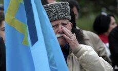 Lietuvas parlaments nosoda cilvēktiesību pārkāpumus Krievijas anektētajā Krimā