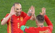 Ramoss: Spānijas futbola izlasei sliktākais jau aiz muguras