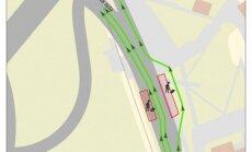 Ierobežos satiksmi uz Maskavas ielas pie 'Akropole' būvlaukuma