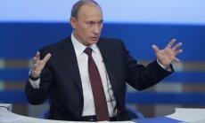 Putins apsūdz opozīciju par gatavošanos izmantot nelikumīgas metodes vēlēšanās