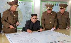 Ким Чен Ын назвал последний запуск ракеты прелюдией к Гуаму