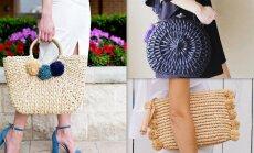 Не только на пляж: подборка самых стильных плетеных сумок этого лета