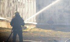 Latvijas 'Ikea' granulu cehā izcēlies paaugstinātas bīstamības ugunsgrēks