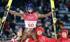 Polis Stohs trešo reizi kļūst par olimpisko čempionu tramplīnlēkšanā