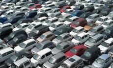 Mainoties atmuitošanas noteikumiem, pērn Ukrainā no Latvijas ievesti 20 000 automašīnu