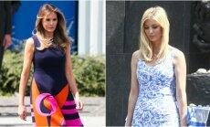 Foto: Trampa sieva un meita Polijā apbur ar eleganci
